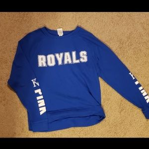 Victoria's Secret Pink KC Royals Sweatshirt XS
